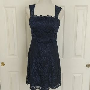 Teeze Me Navy lace dress size 11